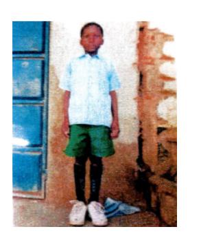 Tobias, Patenkind aus Afrika